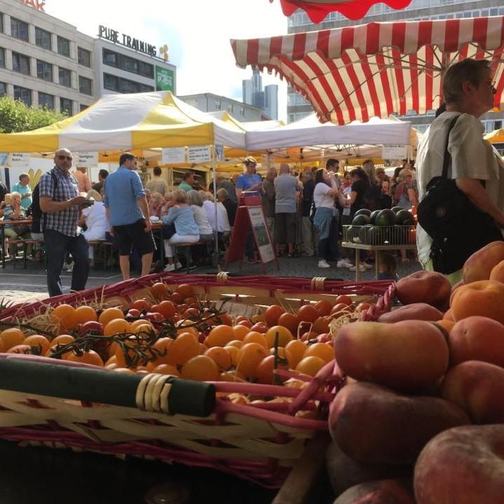 Konstablerwache Market