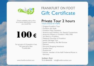 Private tour- frankfurtonfoot